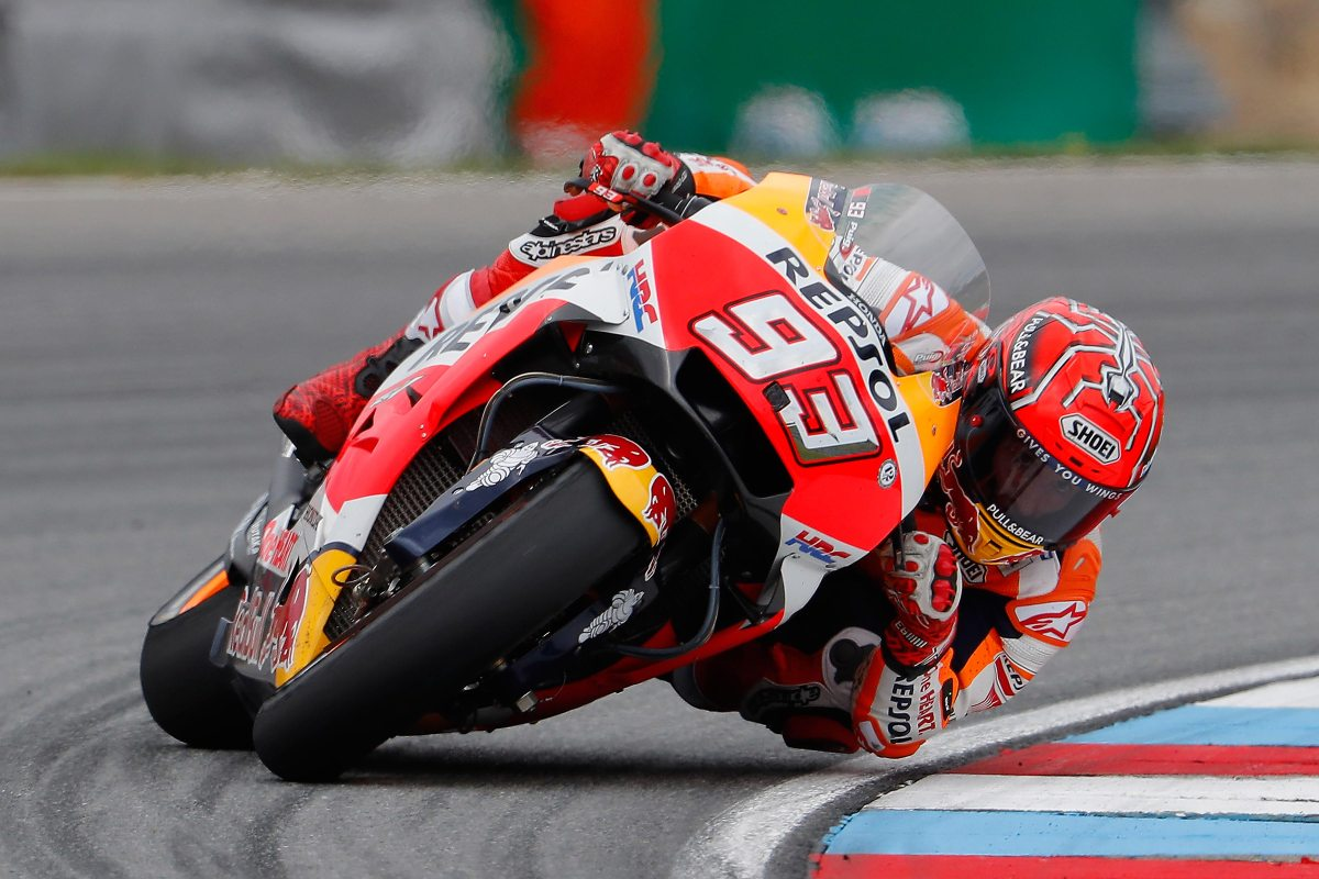Marc Marquez Victorious in Tricky Czech GP
